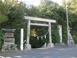 写真:萱津神社